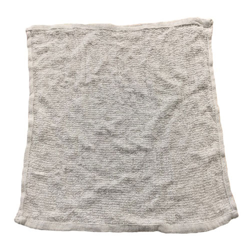 """Clean Up by KaTom CBT24WH White Cotton Bar Towel, 16"""" x 19"""""""