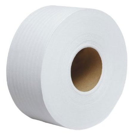Clean Up by KaTom JRT3.5X17002P 2-ply Jumbo Toilet Paper Roll, 1,700-ft