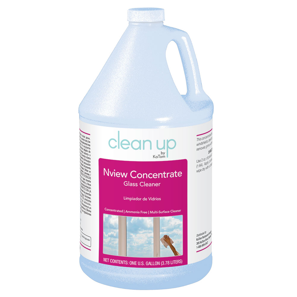 Clean Up by KaTom NVIEWCON 1-gal Nview Concentrate Glass ...