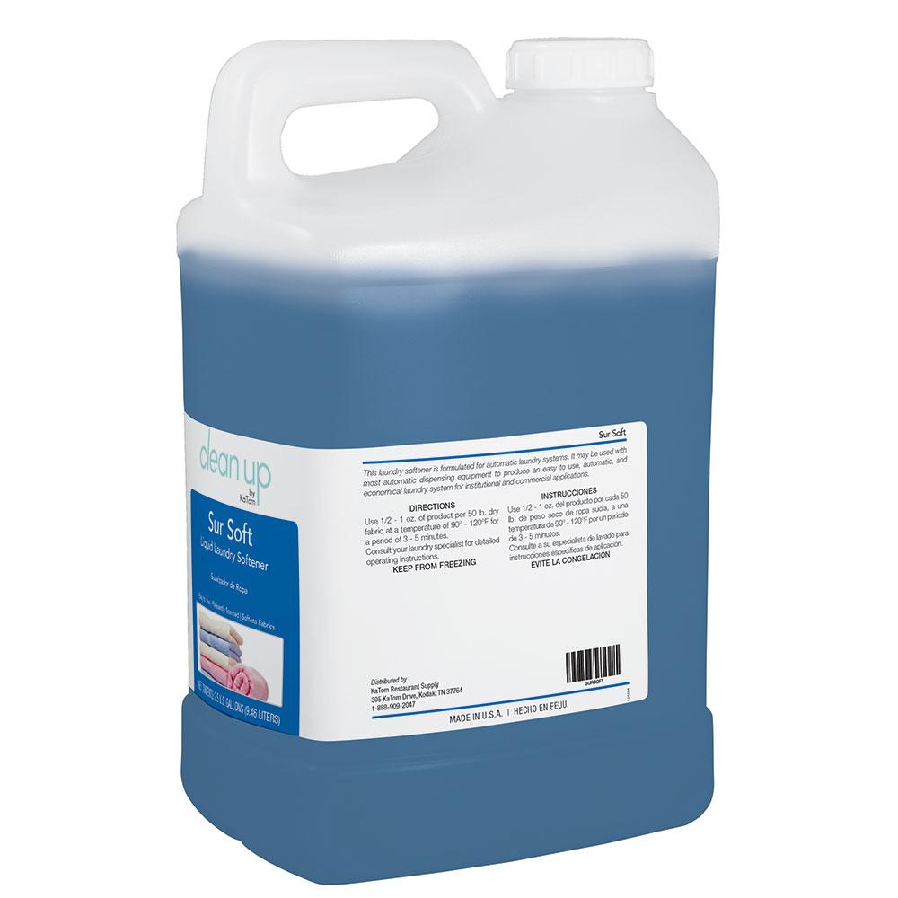 Clean Up by KaTom SURSOFT 2.5-gal Sur Soft Liquid Fabric Softener, Floral Scent
