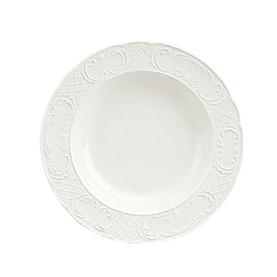 Schonwald 9060120 9.5-oz Round Soup Bowl - Porcelain, Marquis, Continental White