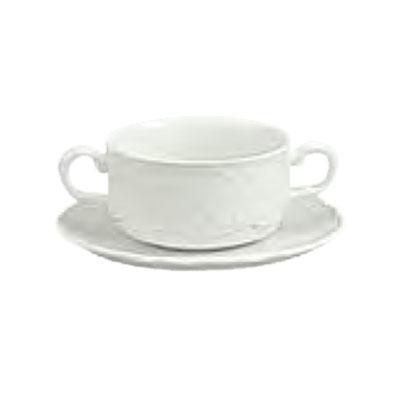 Schonwald 9062728 9.5-oz Round Soup Bowl - Porcelain, Marquis, Continental White