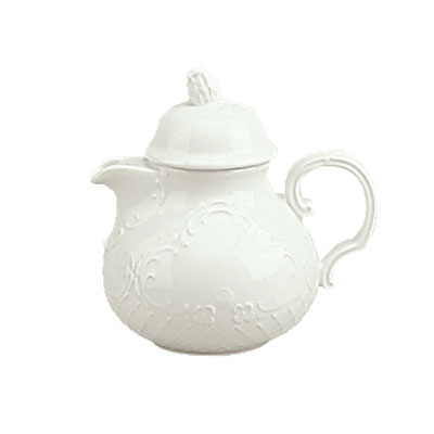 Schonwald 9064365 22-oz Teapot - Porcelain, Marquis, Continental White