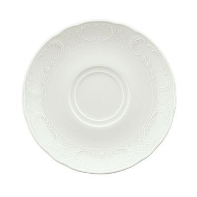 "Schonwald 9066920 6.25"" Round Saucer - Porcelain, Marquis, Continental White"