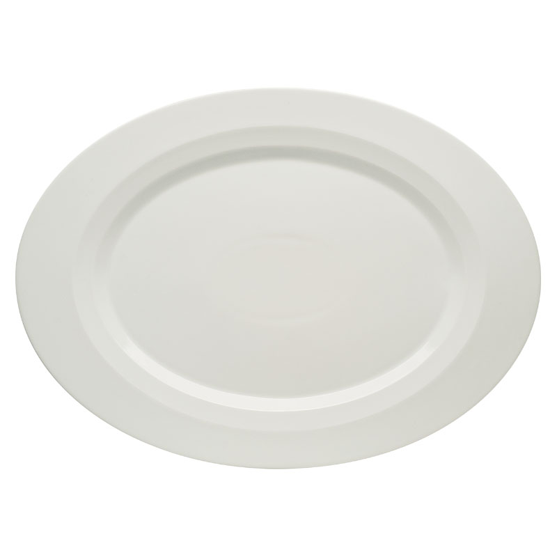 "Schonwald 9122023 9"" Oval Allure Platter - Porcelain, Bone White"