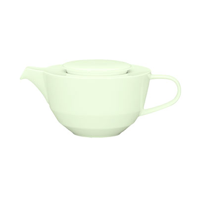 Schonwald 9124345 15.25-oz Porcelain Teapot - Allure, White