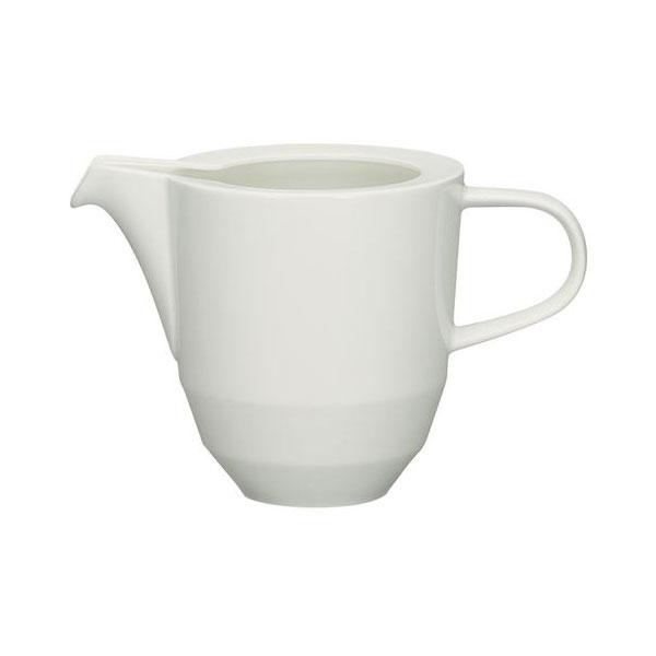 Schonwald 9124730 10-oz Allure Creamer - Porcelain, Bone White