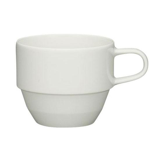 Schonwald 9125119 6.38-oz Allure Cup - Porcelain, Bone White