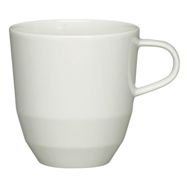 Schonwald 9125582 10.75-oz Allure Coffee Mug - Porcelain, Bone White