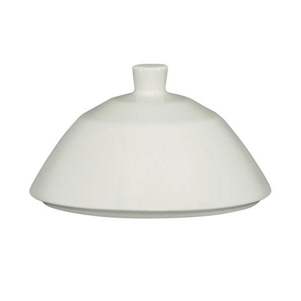 Schonwald 9126428 Cloche Cover for 9120128 11.75-oz Allure Bowl - Porcelain, Bone White