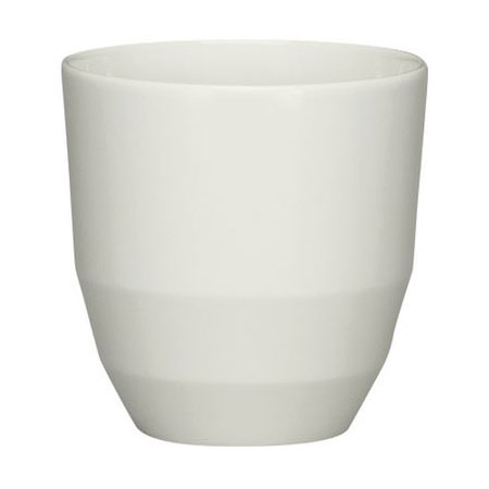 Schonwald 9127901 8-oz Allure Sugar Stick Holder - Porcelain, Bone White