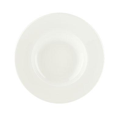 Schonwald 9130128 15.25-oz Porcelain Pasta Bowl - Fine Dining Pattern, White