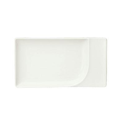 """Schonwald 9132111 7.75"""" Rectangular Platter, Porcelain, Schonwald, Continental White"""