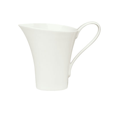 Schonwald 9135015 5.5-oz Porcelain Creamer - Fine Dining Pattern, White