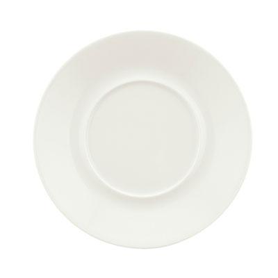 """Schonwald 9136925 5.875"""" Round Saucer, Porcelain, Schonwald, Continental White"""