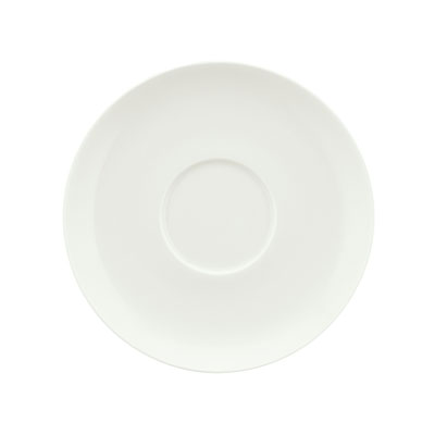 """Schonwald 9137010 4.75"""" Round Saucer, Porcelain, Schonwald, Continental White"""