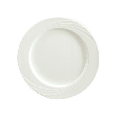 "Schonwald 9180027 10.75"" Porcelain Plate - Donna Pattern, White"