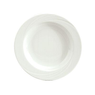 Schonwald 9180123 10.25-oz Porcelain Soup Bowl - Donna Pattern, White