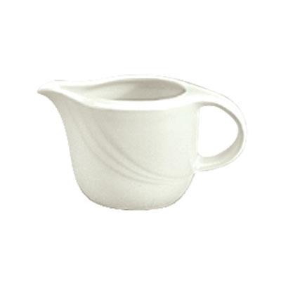 Schonwald 9183835 12-oz Porcelain Sauce Boat - Donna Pattern, White