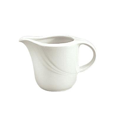 Schonwald 9184715 5-oz Porcelain Creamer - Donna Pattern, White