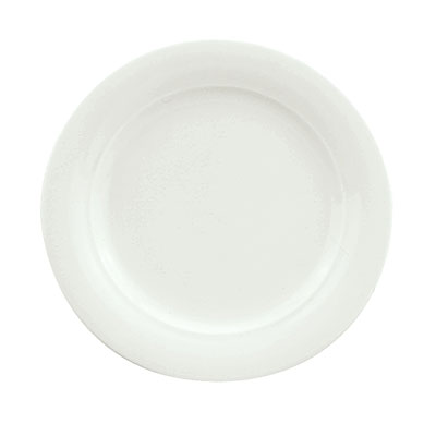 "Schonwald 9190016 6.37"" Porcelain Plate - Avanti Gusto Pattern, White"