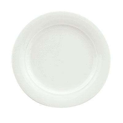 "Schonwald 9190031 12.25"" Porcelain Plate - Avanti Gusto Pattern, White"
