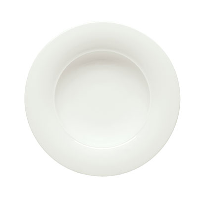 """Schonwald 9190124 10.25"""" Porcelain Soup Bowl - Avanti Gusto Pattern, White"""