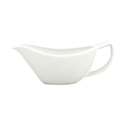 Schonwald 9193810 3.5-oz Porcelain Sauce Boat - Avanti Gusto Patter, White