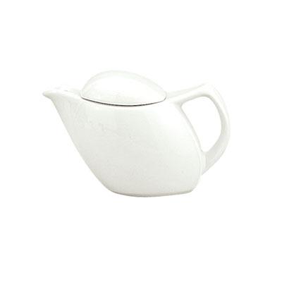 Schonwald 9194365 11-oz Porcelain Teapot - Avanti Gusto Pattern, White