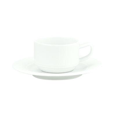 Schonwald 9195109 3-oz Espresso Cup - Porcelain, White