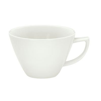 Schonwald 9195280 10.25-oz Porcelain Cup, Avanti Gusto Pattern, White