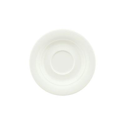 "Schonwald 9196909 5"" Espresso Saucer - Porcelain, White"