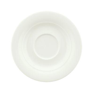 "Schonwald 9196918 3.25"" Porcelain Saucer - Avanti Gusto Pattern, White"