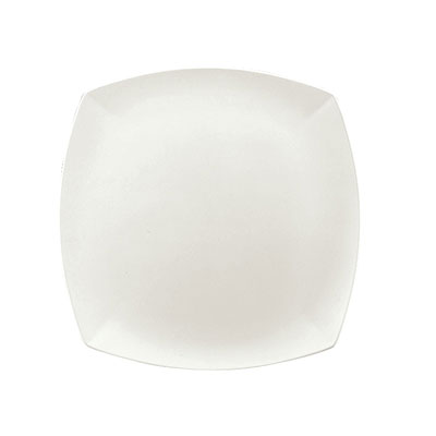 """Schonwald 9321533 13"""" Porcelain Plate - Event Pattern, White"""