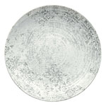 """Schonwald 9331221-63071 7.87"""" Shabby Chic Plate - Coupe, Porcelain, Structure Gray"""