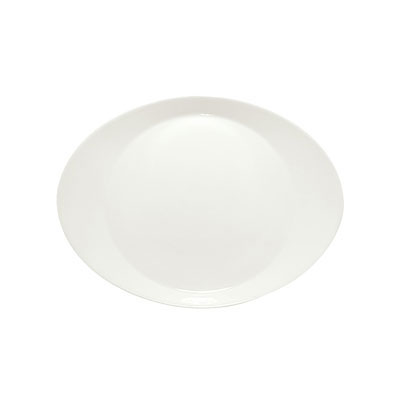 """Schonwald 9351227 10.75"""" Porcelain Plate - Creative Complements Pattern, White"""