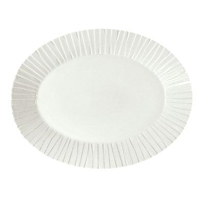"Schonwald 9362079 13.5"" Porcelain Platter - Character Pattern, White"