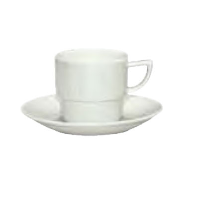 Schonwald 9365125 8.75-oz Porcelain Cup - Character Pattern, White