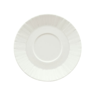"Schonwald 9366959 4.62"" Porcelain Saucer - Character Pattern, White"