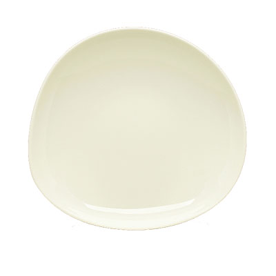Schonwald 9381328 27 oz Round Organic Bowl - Porcelain, Wellcome, Duracream White