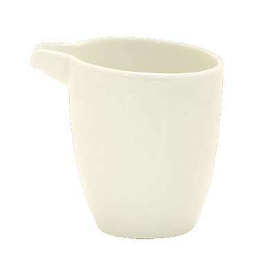 Schonwald 9384715 5-oz Creamer - Porcelain, Wellcome, Duracream White