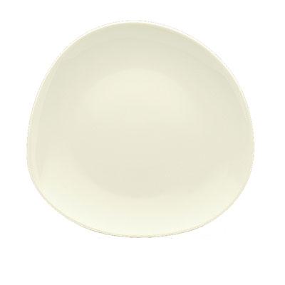 "Schonwald 9385709 3.5"" Round Plate - Porcelain, Wellcome, Duracream White"