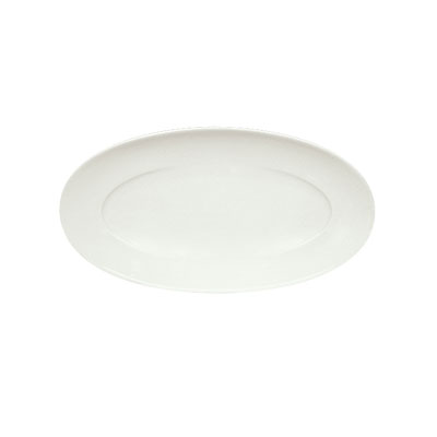 "Schonwald 9392233 Oval Platter, 13"" x 6.875"", Porcelain, Schonwald, Continental White"