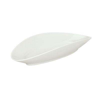 """Schonwald 9392630 Oval Tray, 11.875"""" x 5.375"""", Porcelain, Schonwald, Continental White"""
