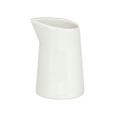 "Schonwald 9394615 2.5"" Round Creamer w/ 5-oz Capacity, Porcelain, Schonwald, Continental White"