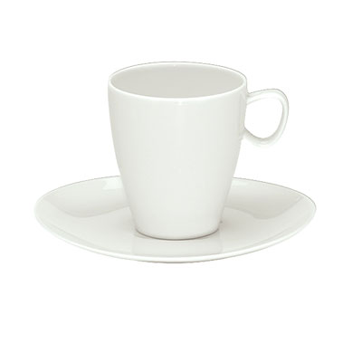 "Schonwald 9395160 1.5"" Round Espresso Cup w/ 3.5-oz Capacity, Porcelain, Schonwald, Continental White"