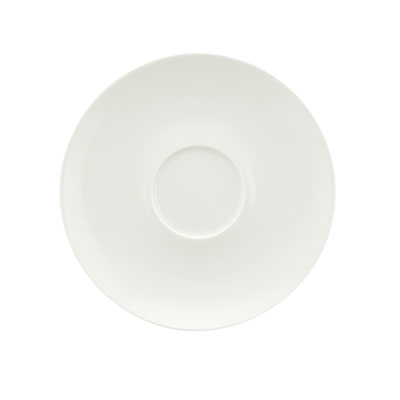 """Schonwald 9396918 6.375"""" Round Saucer, Porcelain, Schonwald, Continental White"""