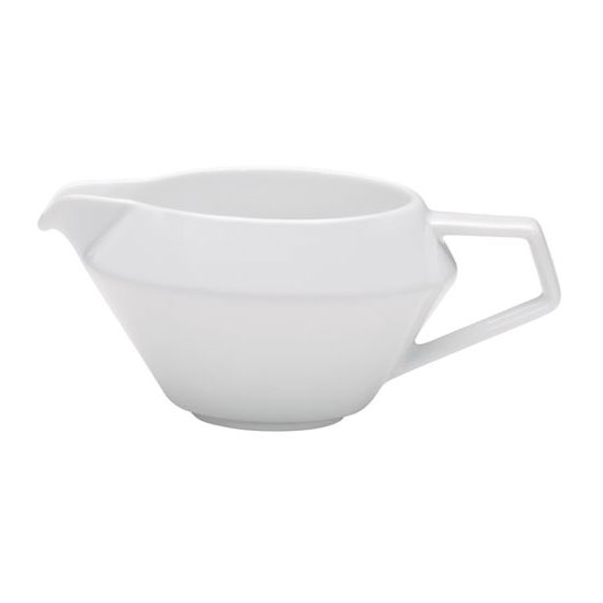Schonwald 9403810 3.75-oz Connect Sauce Boat - Porcelain, Continental White