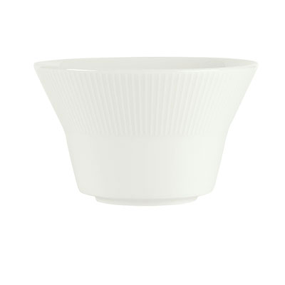 Schonwald 9405378-62987 11-oz Porcelain Bouillon - Connect Radial Pattern, White