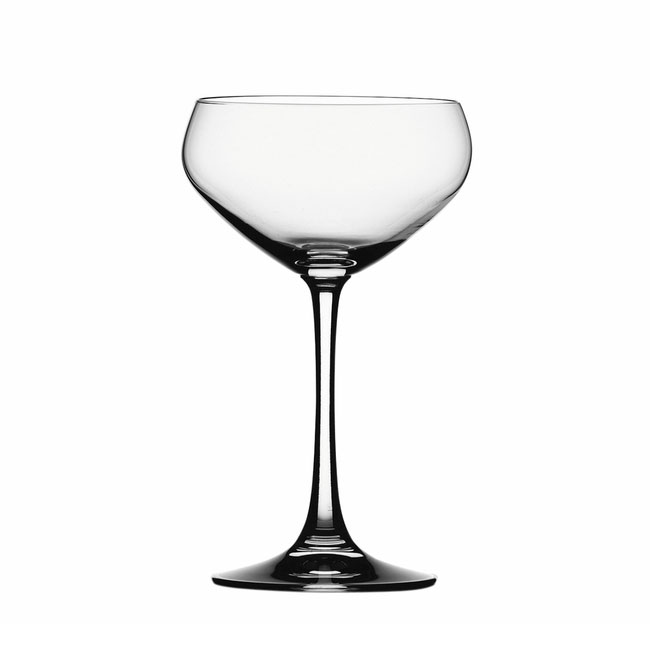 Spiegelau 4518008 9.75-oz Vino Grande Champagne Saucer Glass